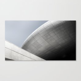 Dongdaemun Design Plaza by Zaha Hadid architect | Seoul Canvas Print