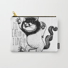 I'll Eat You Up I Love You So Carry-All Pouch