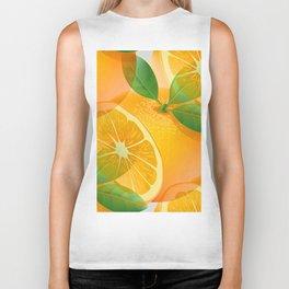 Oranges Biker Tank