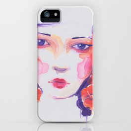 chinese girl iPhone Case