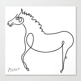 Pablo Picasso, Horse Artwork, Animals Sketch, Prints, Posters, Tshirts, Bags, Men, Women, Kids Canvas Print