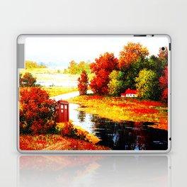 Tardis Lost At The River Laptop & iPad Skin