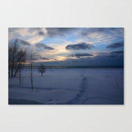 Morose Sky Canvas Print