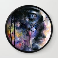 frozen Wall Clocks featuring Frozen by agnes-cecile
