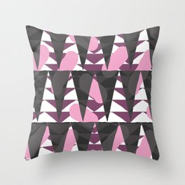 Confetti safari V3 Throw Pillow