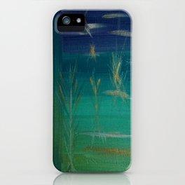 Corn Husk Mist Outside My Window iPhone Case
