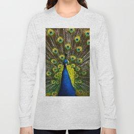 Colorful peacock Long Sleeve T-shirt