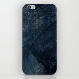 Young Woman in Blue iPhone Skin