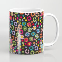 dp065-8 floral pattern Coffee Mug