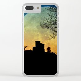 Full moon castle - Trifels Clear iPhone Case