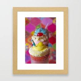 Cirque du Cupcake Framed Art Print