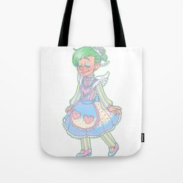 princess ferb Tote Bag