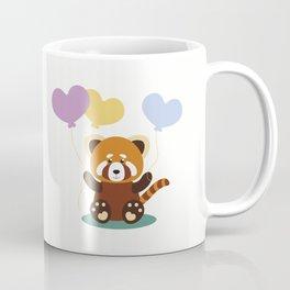 Lovely Red Panda Coffee Mug