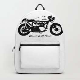 HAPPY CHRISTMAS TO ALL CLASSIC CAFE RACER BIKERS,GIFT WRAPPED FOR CHRISTMAS 2020 Backpack