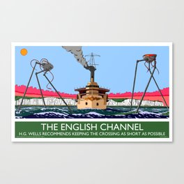 The English Channel Canvas Print