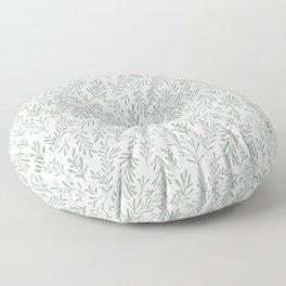 Sweet Sage Botanical C15 Mod Pattern Floor Pillow