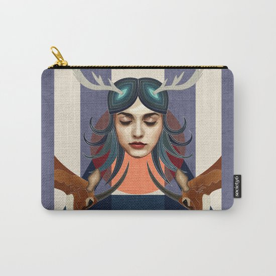 Antelope Girl Carry-All Pouch