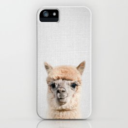 Alpaca - Colorful iPhone Case