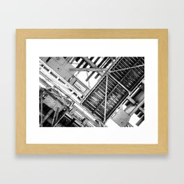 Cranked Framed Art Print