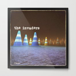 Gang of Cones  - The Invaders Metal Print