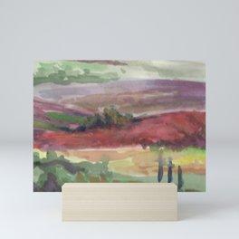 Fields of Sarlat Mini Art Print