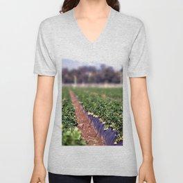 Strawberry Field Unisex V-Neck