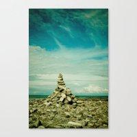 meditation Canvas Prints featuring Meditation by Olivia Joy StClaire
