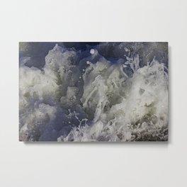ocean commotion Metal Print