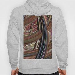Striped Weave Hoody
