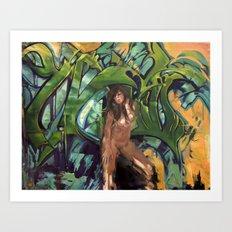 Kaleidoscope A Art Print
