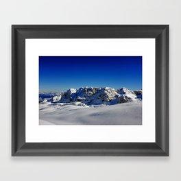 Dolomite View 2 Framed Art Print