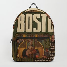 Vintage poster - The Famous Original Bostonians Backpack