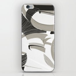 White forest iPhone Skin