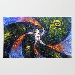 Oil painting Love Man Rug