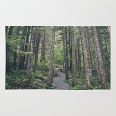 A walk through the trees Rug