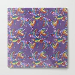 Hummingbird Wings Metal Print
