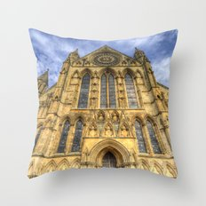 York Minster Cathedral Throw Pillow