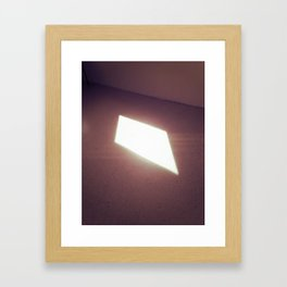 The Window Framed Art Print