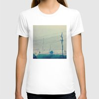 kansas city T-shirts featuring Kansas City Rain by Jason Simms