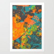 floral 004. Art Print