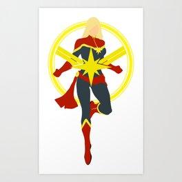 my captain Art Print