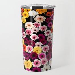 Fountain Flowers Travel Mug