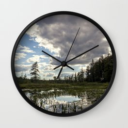 afternoon reflections Wall Clock