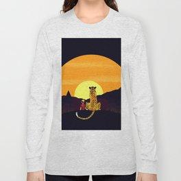 in the sunset art Long Sleeve T-shirt