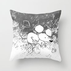 minima - deco mouse Throw Pillow