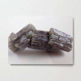 Purple Aragonite Metal Print