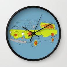 The Mystery Machine Wall Clock