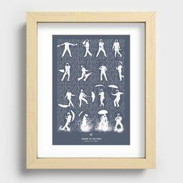 Singin' In The Rain Recessed Framed Print