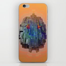 Buble Lab Robotics Space iPhone Skin