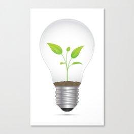 Light Bulb Plant Canvas Print